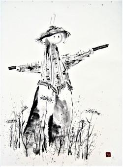 Tai Chi by Scarecrow