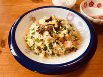 wood ear fried rice