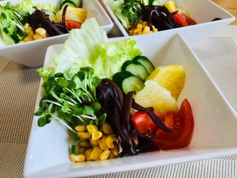 wood ear and veggie salad