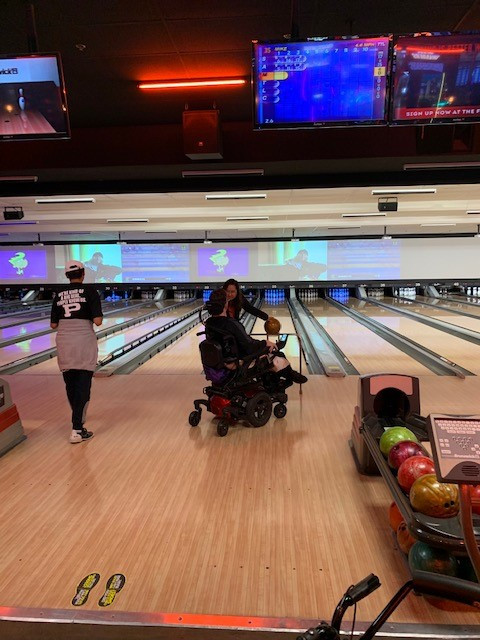 Mike and Gilberto getting in some bowling time!
