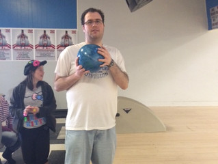 Creel's Day Out at the Bowling Alley!