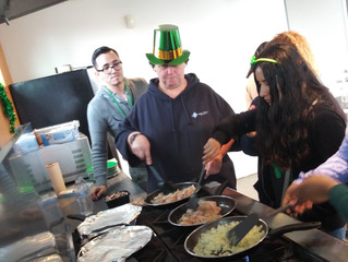 ST Patty's Cooking
