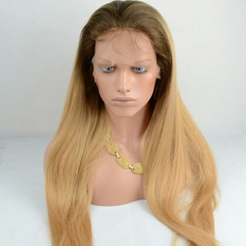 6/27 Straight Full lace wig