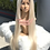 Thumbnail: Mink straight Full lace wig 1b/613