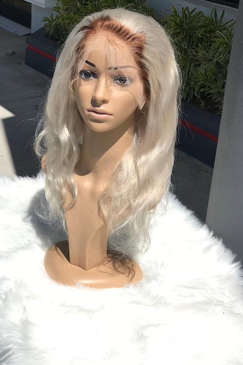 Body wave 4/60 Full lace wig