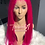 Thumbnail: Hot pink  full lace wig