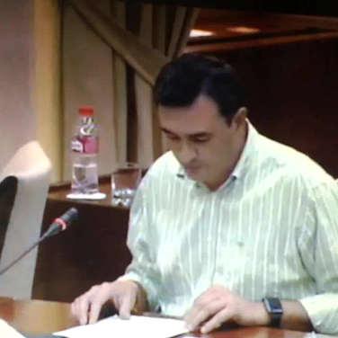 Felix Romero Moreno - Diputado PP Andalucia  - Comparecencia Parlamentaria 13/10/2016 a Petición G. Pº Podemos - Promovida por ADSG Sierra Oriental Huelva - 400 firmas.
