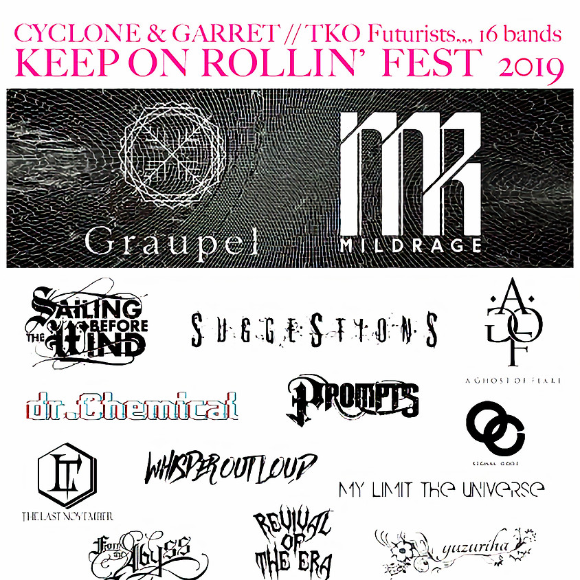 KEEP ON ROLLIN' FEST 2019