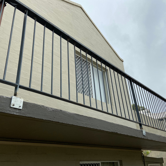 Concrete Cancer Treatment to Balcony Balustrade