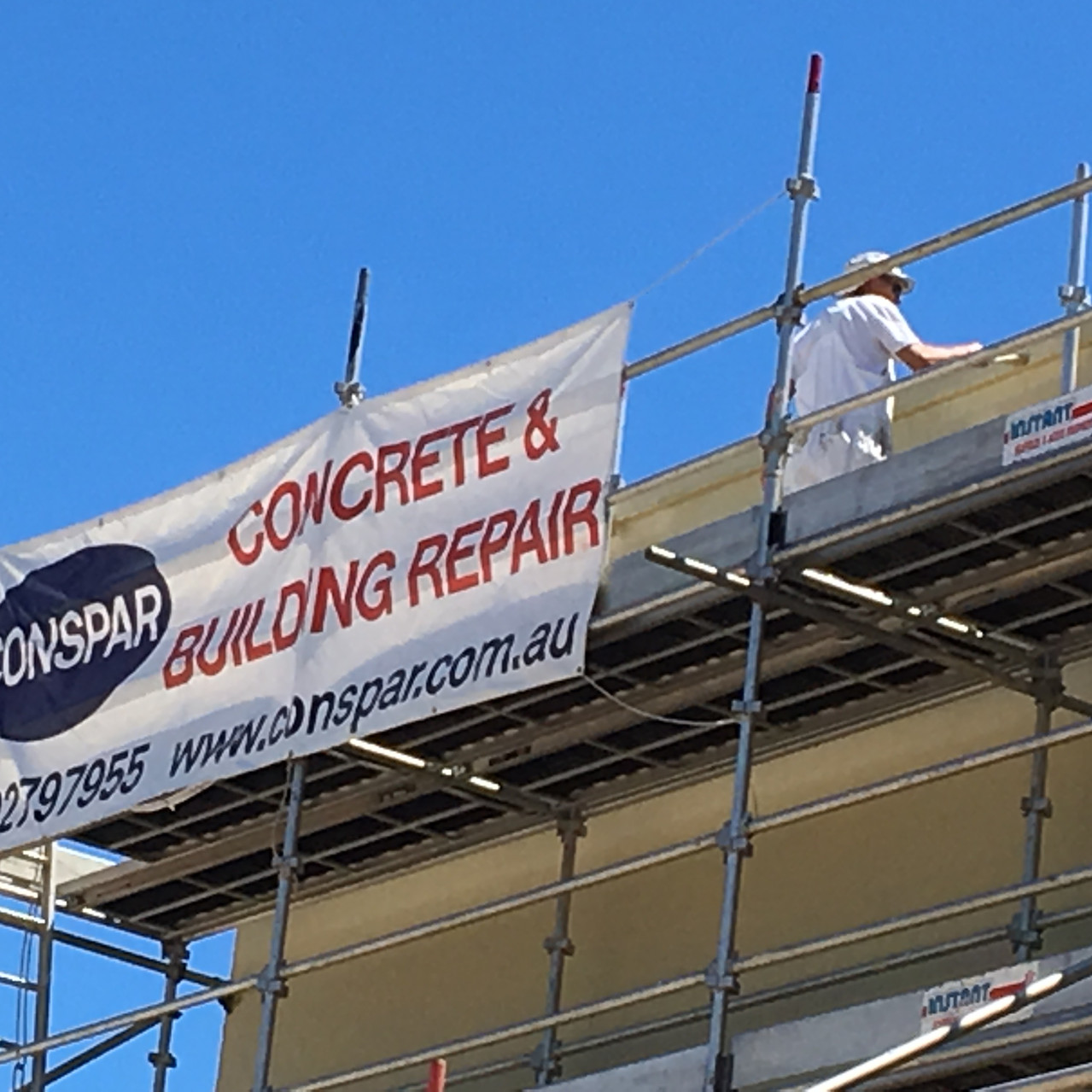 Conspar restoration work at St Patrick's Community Support Centre in Fremantle