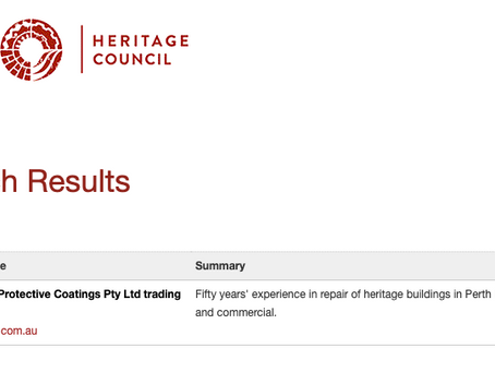 Grants for heritage property restoration