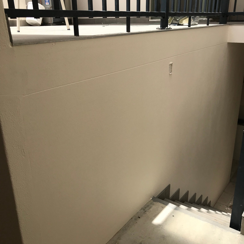 Conspar waterproofing and retiling of this outdoor area, staircase and basement at an East Perth home overlooking Claisebrook Cove.