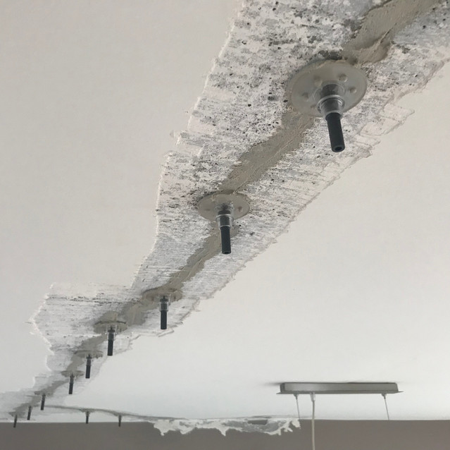 Concrete Repairs to Apartment Ceiling to Stop Leaks
