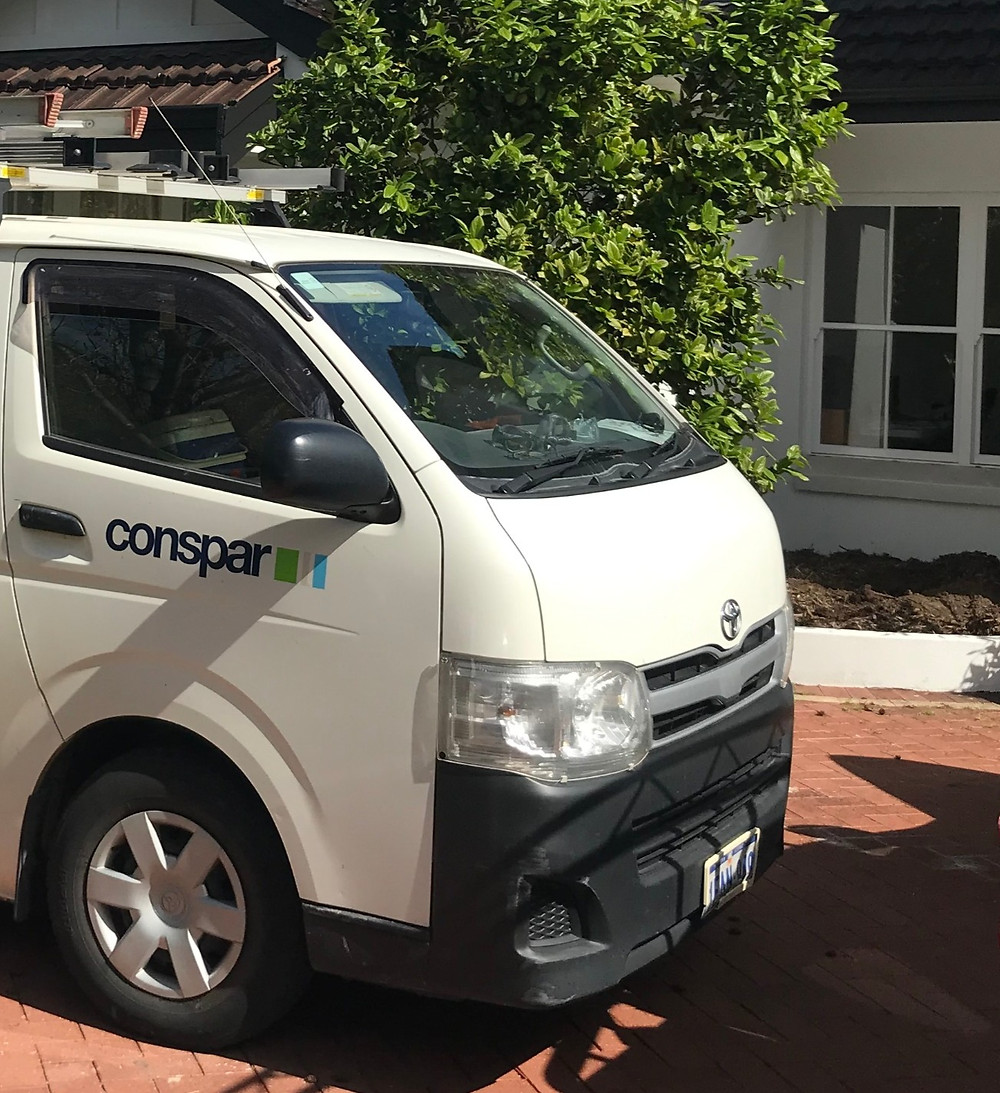 Conspar automated building maintenance service for investment properties