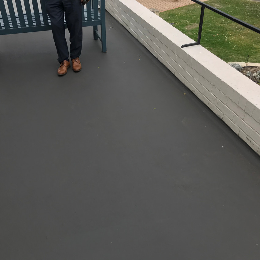 Conspar waterproofing works to combat water ingress problems being experienced at this residential property in City Beach (Perth).