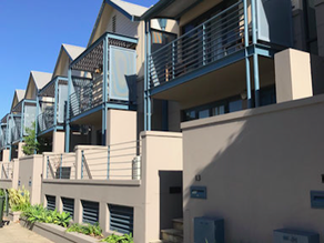 Structural repair works at North Fremantle townhouse complex to stop water ingress