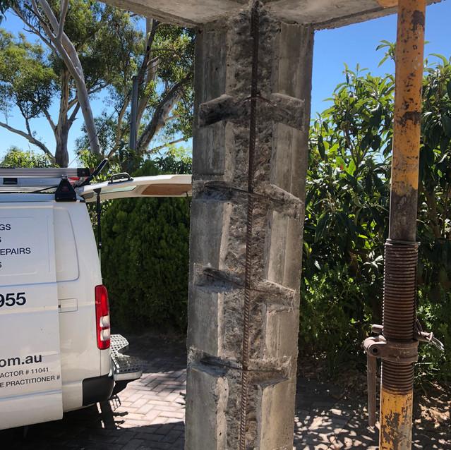 Concrete Column Repairs, Swan View