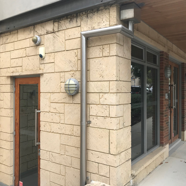 Conspar Stainless Steel Downpipe Installation, Subiaco (Perth)