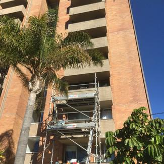 Balcony Concrete Cancer Treatment