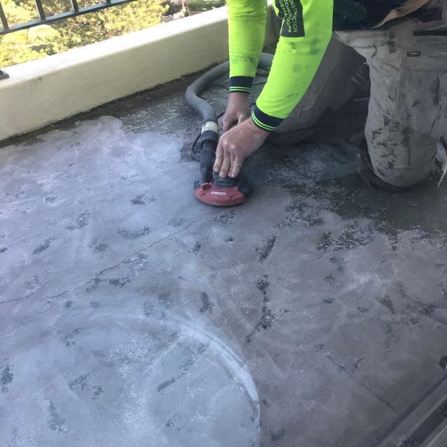 Balcony Concrete Floor Repairs