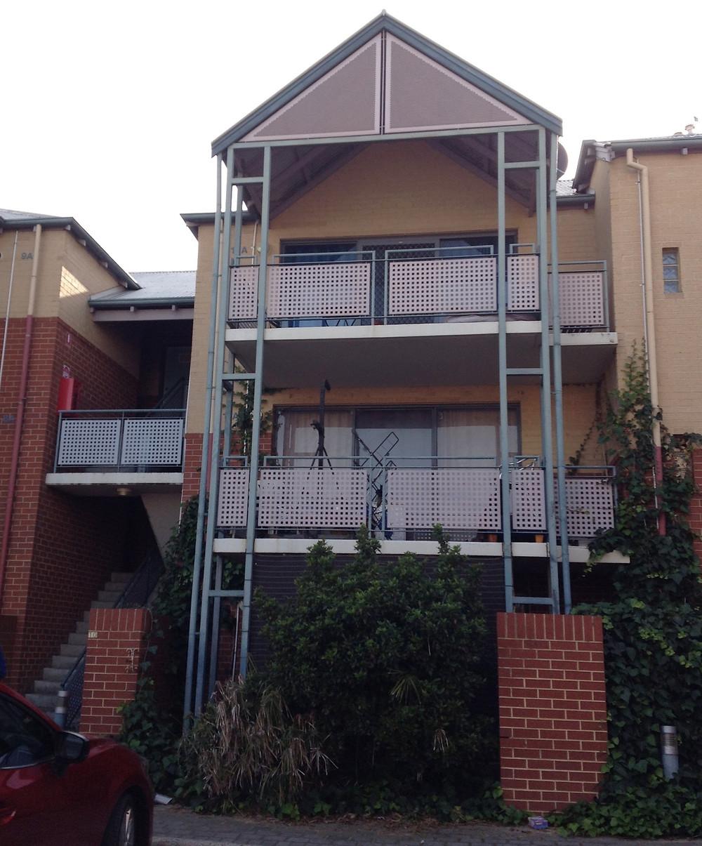 Conspar structural building repair works at Rivervale apartment complex