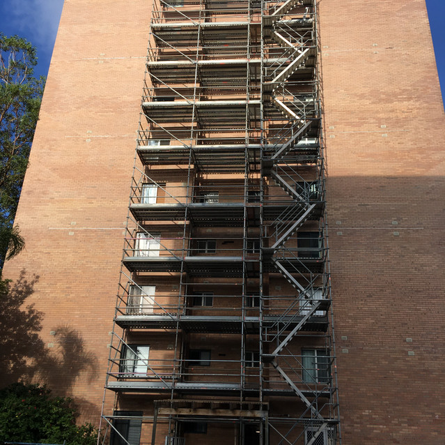 Mosman Park Lintel Replacement at High-Rise Residential Apartment Building, Perth