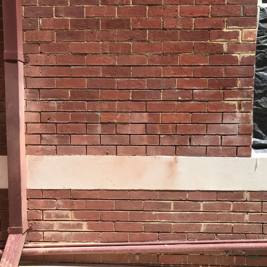 Conspar was asked to help restore this brick wall belonging to a residential strata complex in Northbridge (Perth) which was causing moisture ingress damage to the apartments within.
