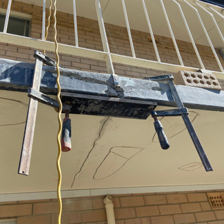 Concrete Cancer Treatment at Common Access Balcony Leading Edge