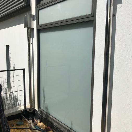Conspar window work