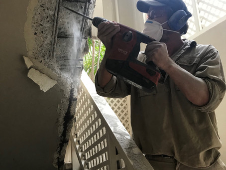 South Perth apartment building gets concrete cancer treatment