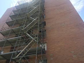 Window lintel upgrade at Mosman Park apartment building