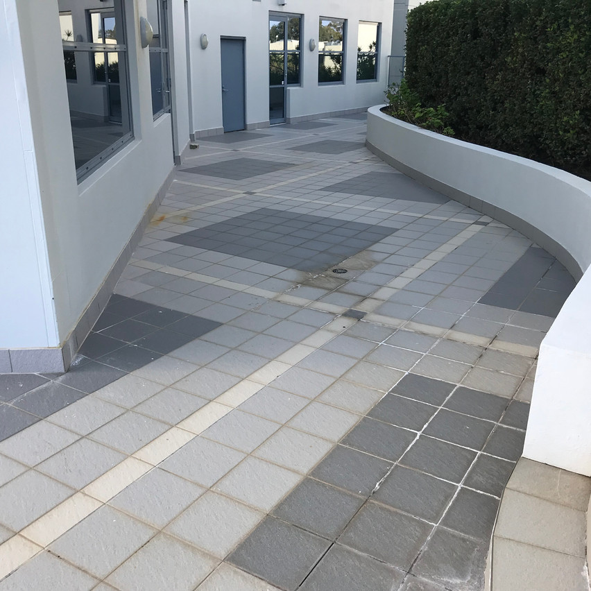 Conspar was asked to help resolve water ingress issues being experienced at this block of offices in South Perth.