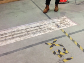 Forrestfield factory floor restoration