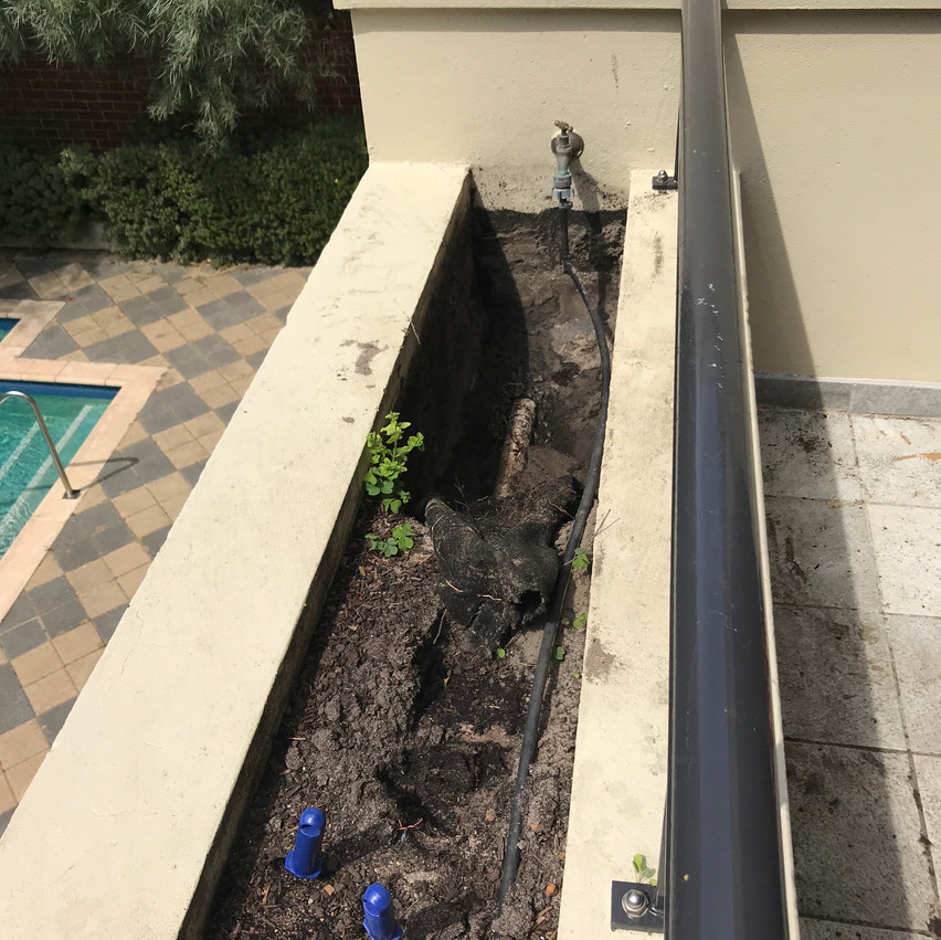 Conspar initially carried out an inspection of these planterboxes at a residential strata property in Highgate (Perth) where water ingress had become a problem.