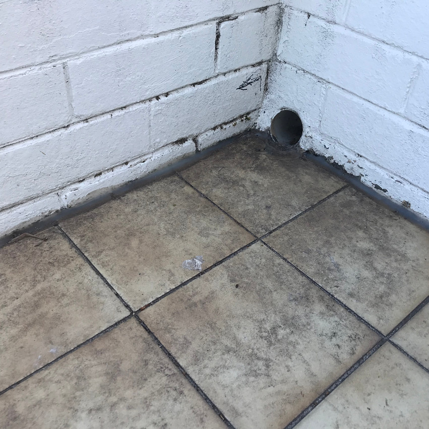 Water ingress at a property in City Beach (Perth).