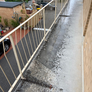 Concrete Cancer Treatment to Common Access Balcony