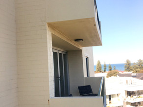 Cottesloe apartment balcony floor restoration begins