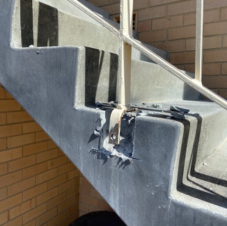 Concrete Cancer Treatment and Balustrade Fixing Restoration