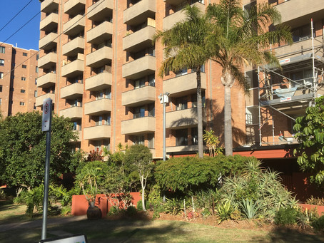Treatment of concrete cancer at Mosman Park apartment building