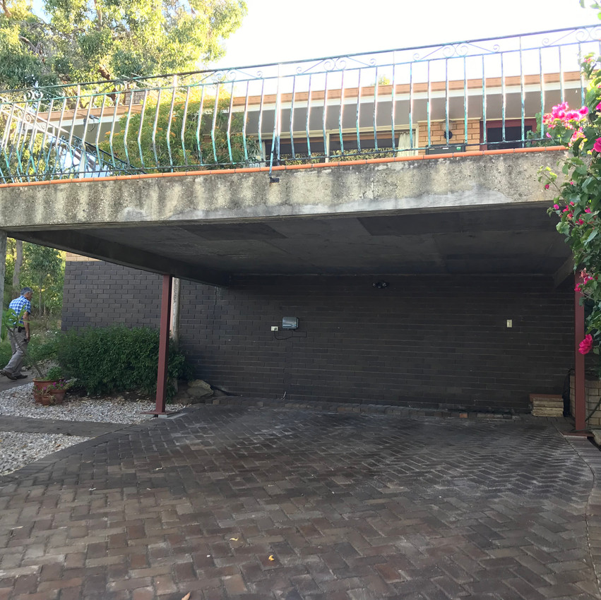 Conspar concrete cancer treatment at this residential property in Swan View, Perth
