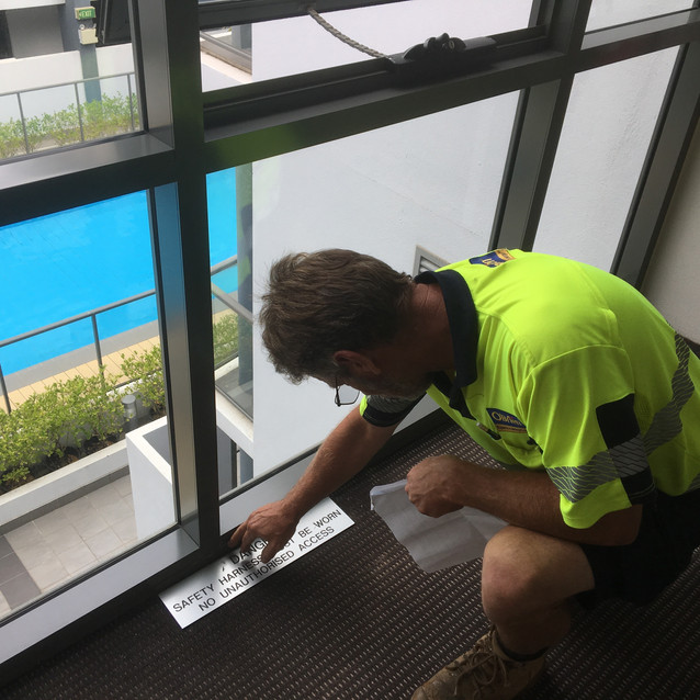 Conspar Investigation for Window Water Leaks, Perth CBD High-Rise
