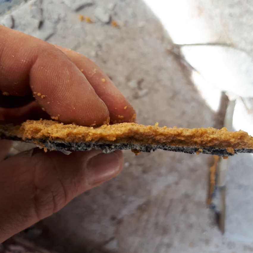 Conspar destructive investigation at this residential strata building in Highgate (Perth) to determine status of current waterproofing systems regarding water ingress problem.