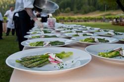 VIP dinner at MacMurray Ranch