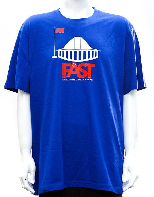FAST Party Blue Tshirt