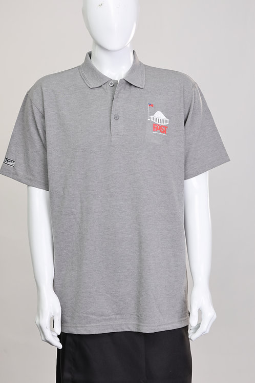 Fast Party Grey Polo Shirt