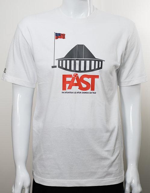 FAST White Tshirt