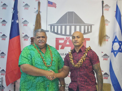 Launch of free School WIFI project for Schools in Savai'i