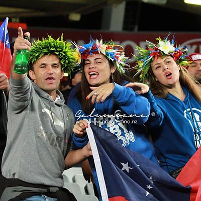 Manu Samoa vs All Blacks