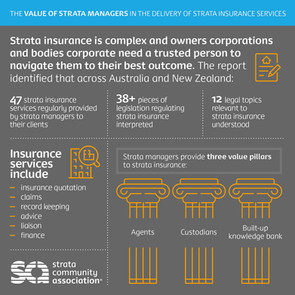 The value of strata managers