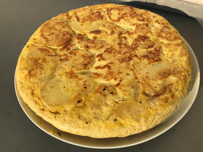 Tortilla Espagnole (la part) 10€